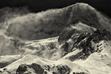 Snow drifts on Pigne d'Arolla II